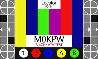 M0KPW ATV Test card